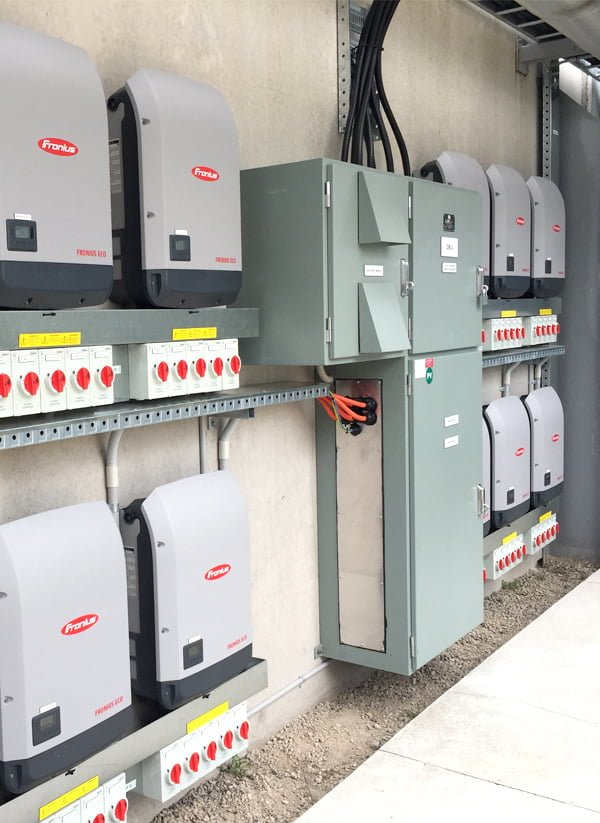 Commercial Solar Components